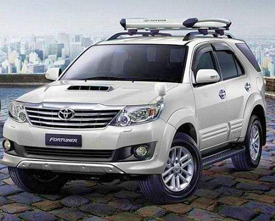 Toyota Fortuner 2012 Facelift