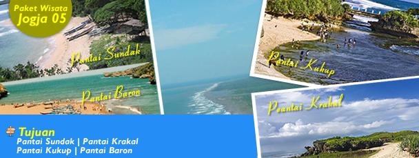 Paket WIsata Pantai Sundak Pantai Krakal