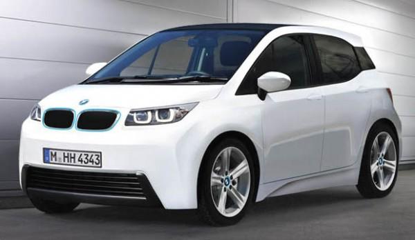 BMW i3 rental mobil jogja