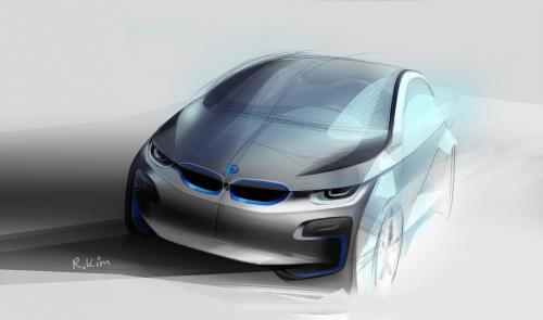 BMW i5 Concept rental mobil yogyakarta