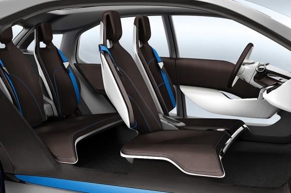 BMW i8 Concept interior view rental mobil yogyakarta