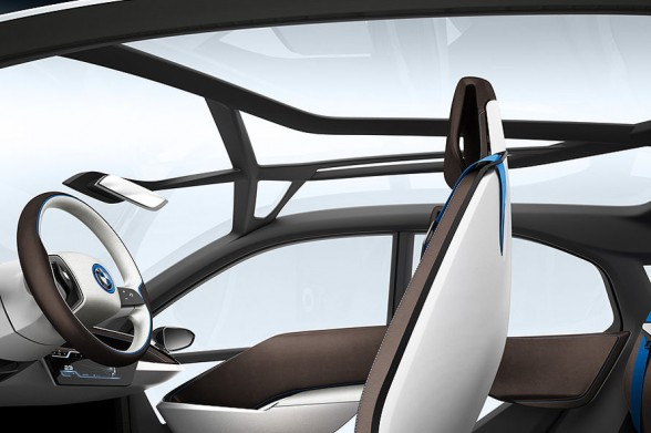 BMW i8 Concept seater view rental mobil yogyakarta