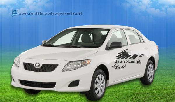 Sewa Mobil Toyota corolla New Altis Jogja