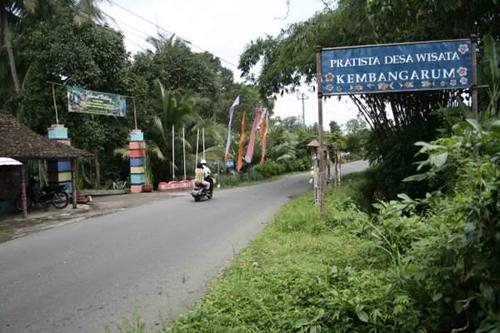 Desa Wisata di Yogyakarta Kembangarum sewa mobil jogja