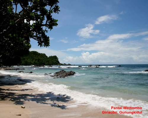 Pantai Wediombo rental mobil yogyakarta