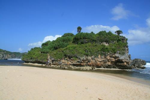 pantai drini wisata jogja