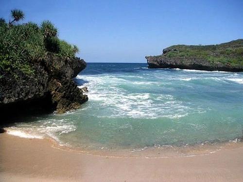 peta pantai krakal paket wisata yogyakarta