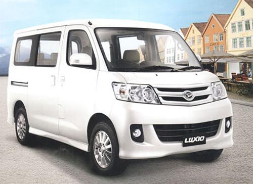 Daihatsu Luxio rental mobil yogyakarta
