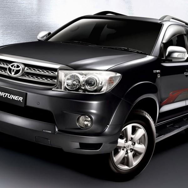 Toyota Fortuner sewa mobil jogja