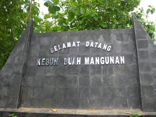 Taman Buah Mangunan, Bantul , Yogyakarta