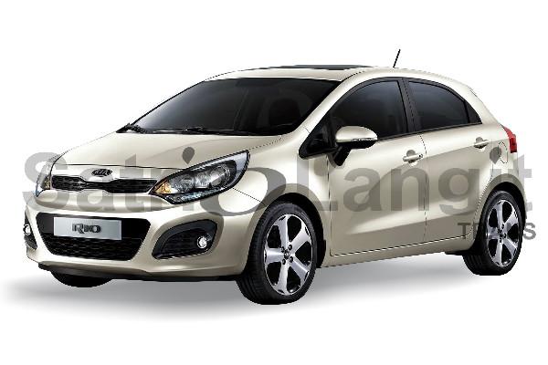 Kia Rio Mobil Lebaran