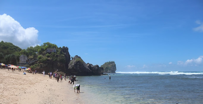 Pantai Pulang Syawal Gunungkidul