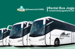 Charter Bus Pariwisata Yogyakarta Bergaransi