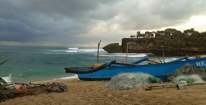 Pantai Greweng Gunungkidul
