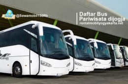 Sewa Bus Ke Jogja Dari Jakarta Bandung Surabaya