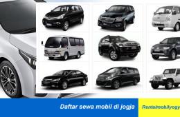 Daftar Sewa Mobil di Jogja Resmi