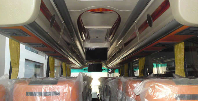 Interior Bus Jogja