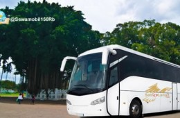 Bus Pariwisata Tujuan Jogja Semarang Solo Purwokerto Cirebon