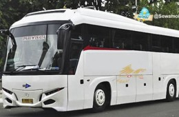 Harga Sewa Bus Pariwisata Tujuan Jogja Solo Semarang