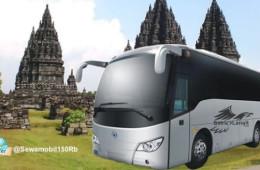 Harga Sewa Bus Pariwisata Jogja Termurah