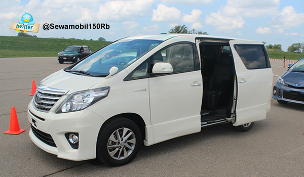 Rental Alphard Jogja All New Putih