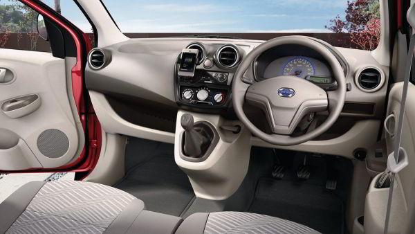Sewa Datsun Nissan Go Plus Interior Mewah Tampilan