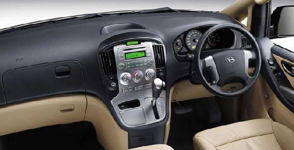 Sewa Hyundai h1 Dashboar Dengan Panel Dengan Panel Yang Lengkap