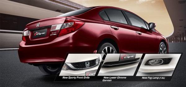Eksterior Honda Civic Terbaru 2015 dan 2016