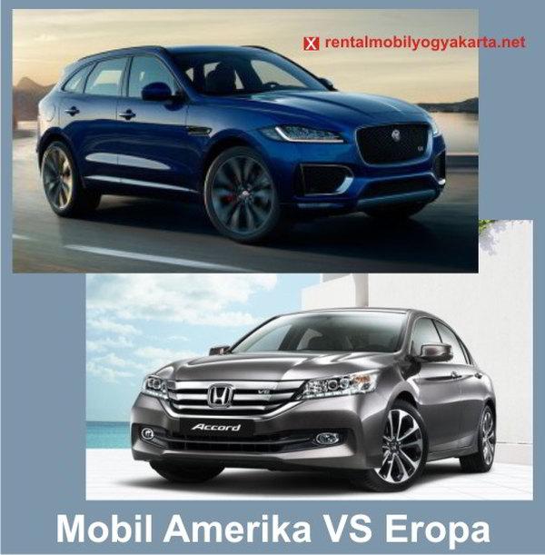 Mobil Amerika VS Jepang