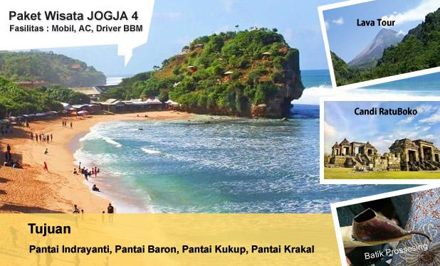 paket wisata pantai