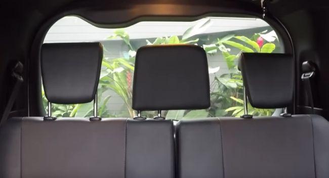 Toyota Voxy CVT Seats